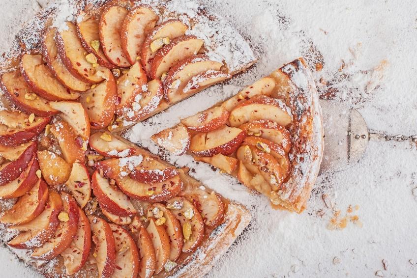 Lenten Apple Mat