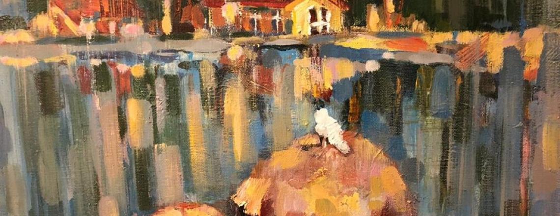 Открытие арт-резиденции и выставка картин русских художников