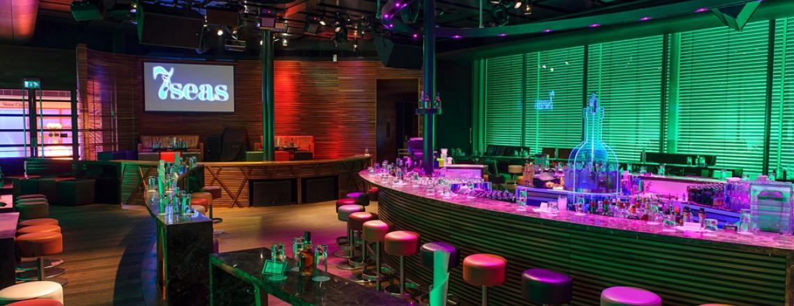 7seas, night club at Columbia Plaza, Limassol