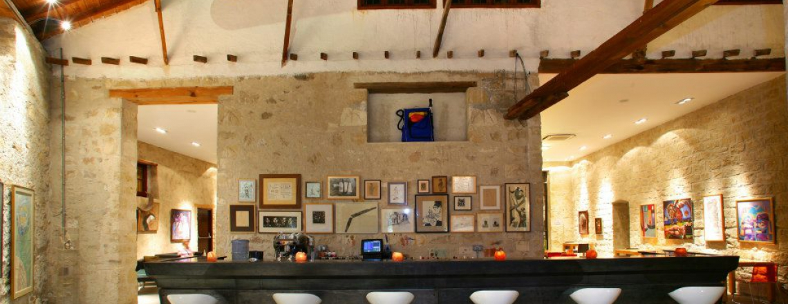 Apothikes, art space and cafeteria in Larnaca