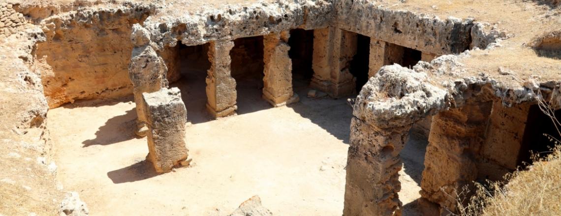 «Царские гробницы» в Пафосе