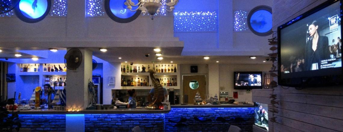 Hippocampus Lounge Restaurant, ресторан «Гиппокампус» в Протарасе