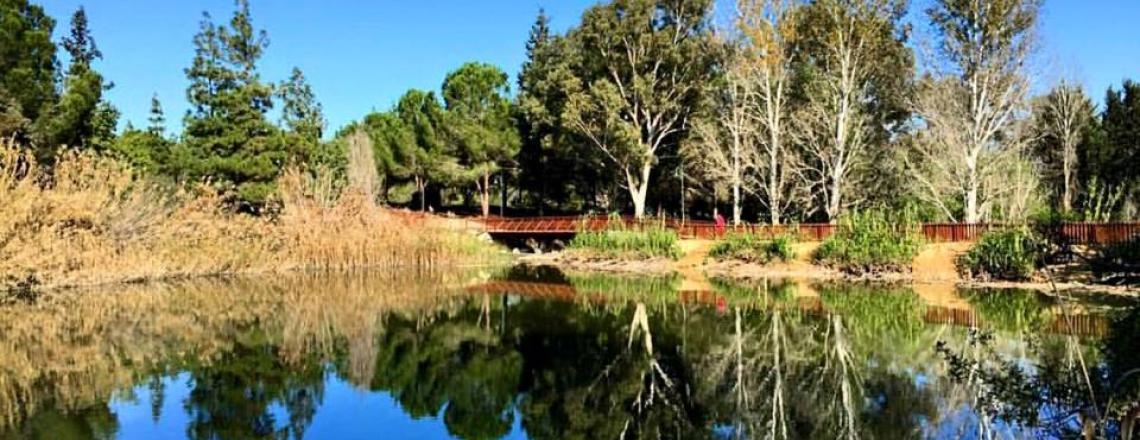 Парк Athalassa National Park в Никосии