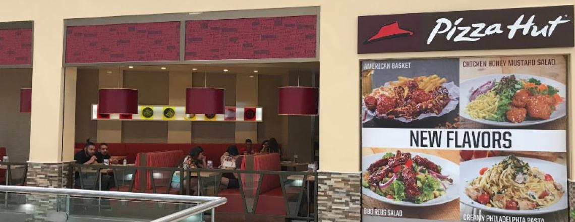 Pizza Hut My Mall, пиццерия Pizza Hut в ТЦ MYMALL в Лимассоле
