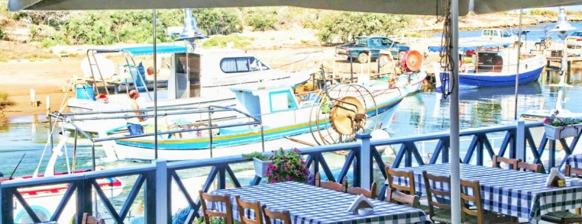 The Potamos Restaurant on the outskirts of Ayia Napa
