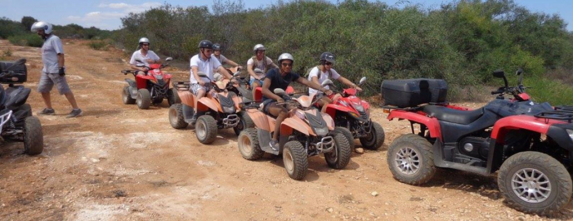 Gass Quad Safaris, Quadracycle Tours in Paralimni
