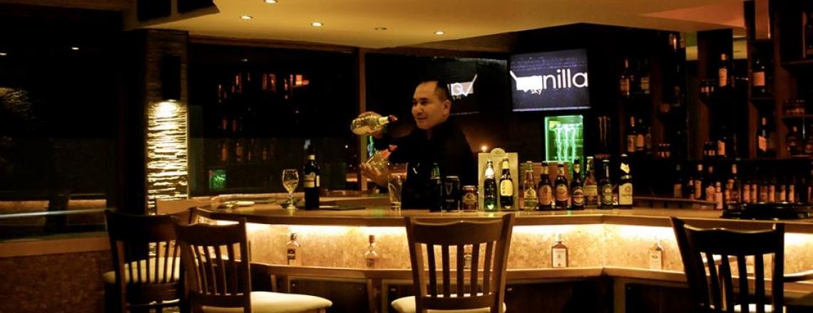 Vanilla Sky Cocktail Lounge, ресторан и лаундж-бар Vanilla Sky в Ларнаке