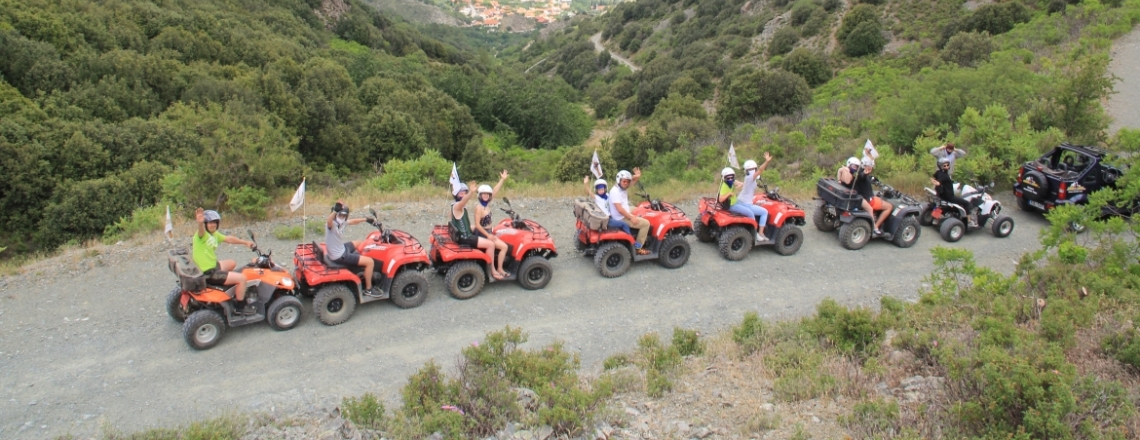 Agros Quad safari, Quadricycle rides, Limassol