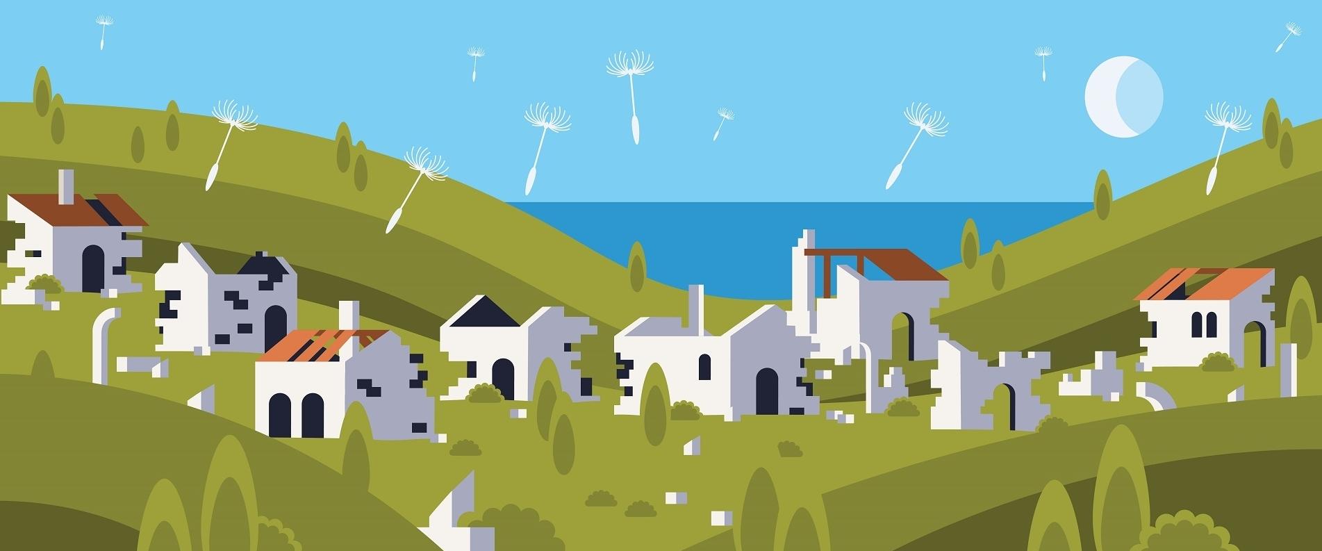 ТОП 5 заброшенных деревень Кипра