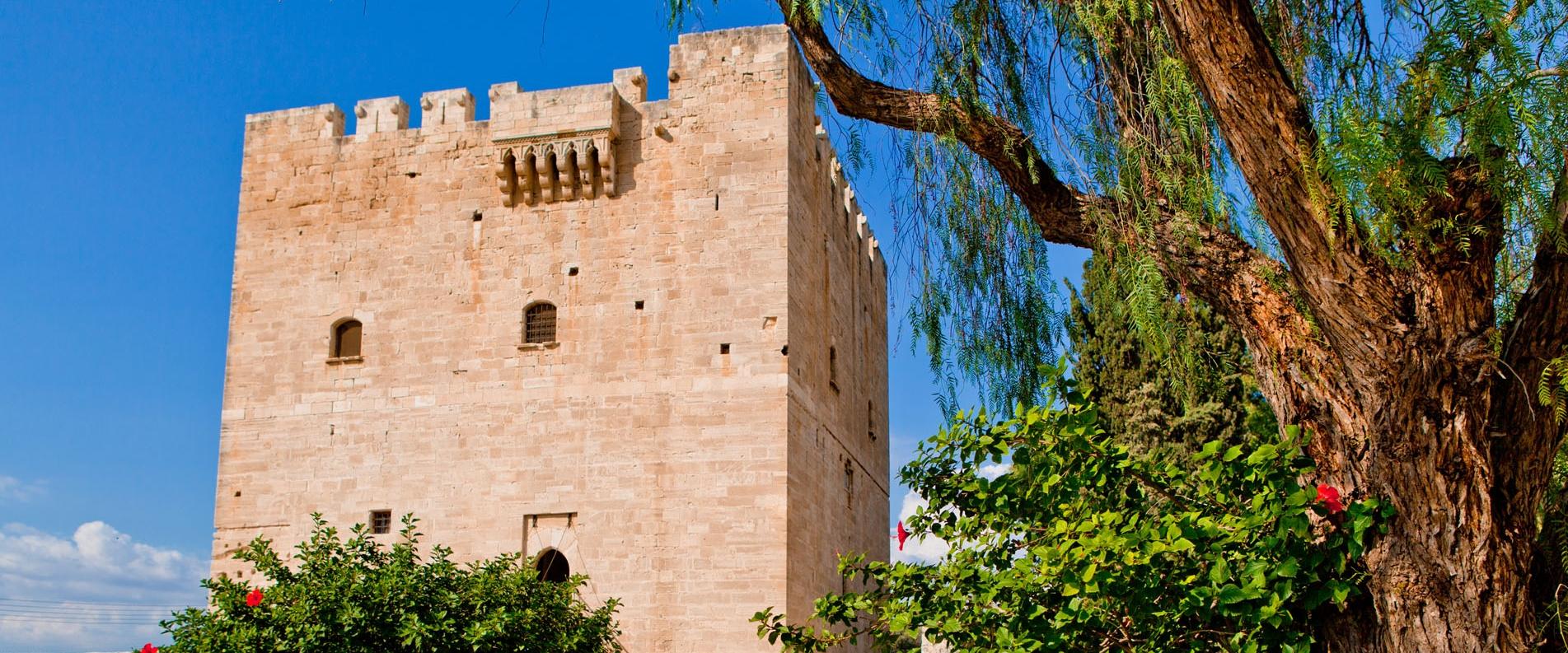 Colossi Castle in Limassol