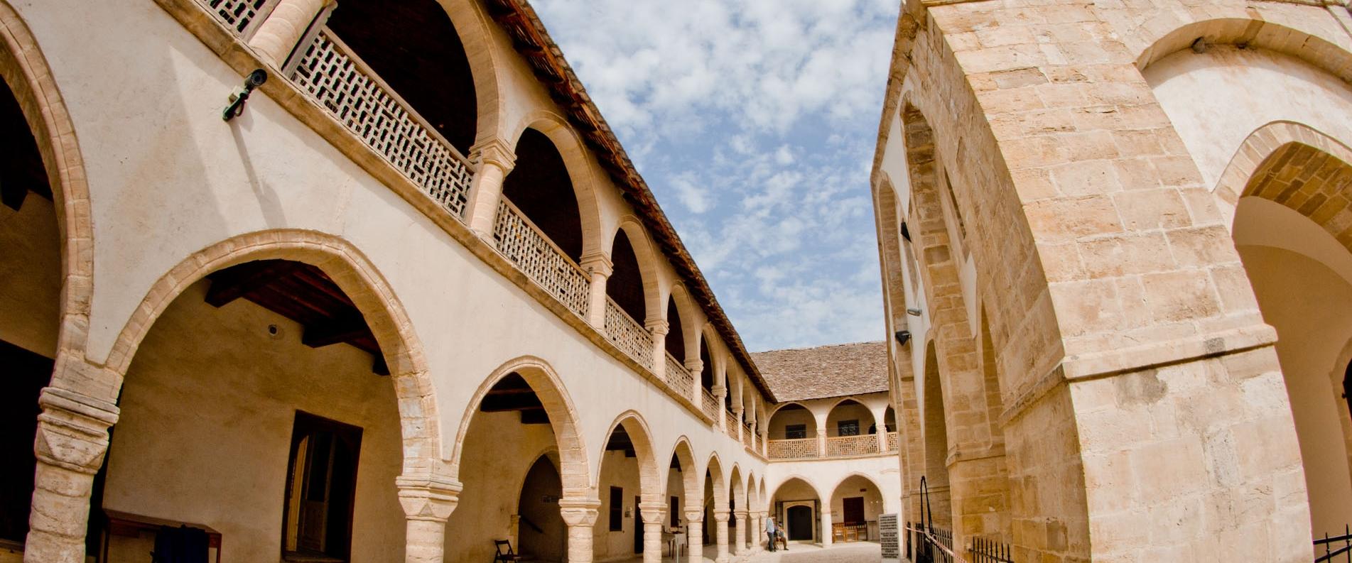 Монастырь Честного Креста, Омодос, фоторепортаж