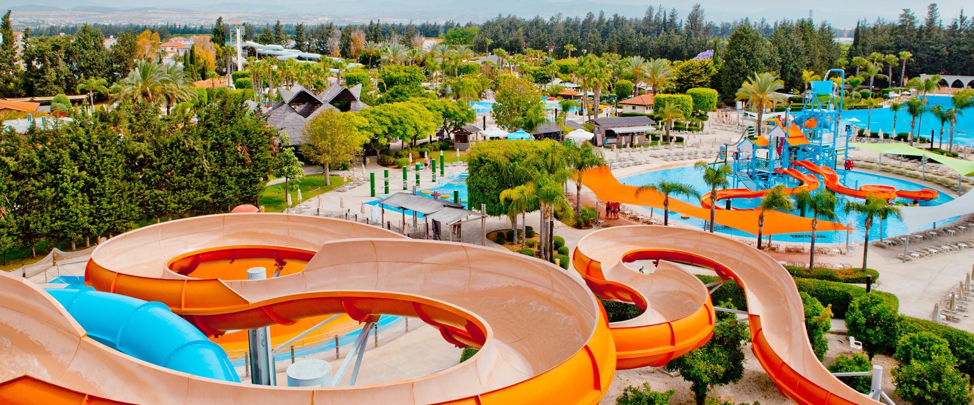 Fasouri Watermania Aquapark in Limassol