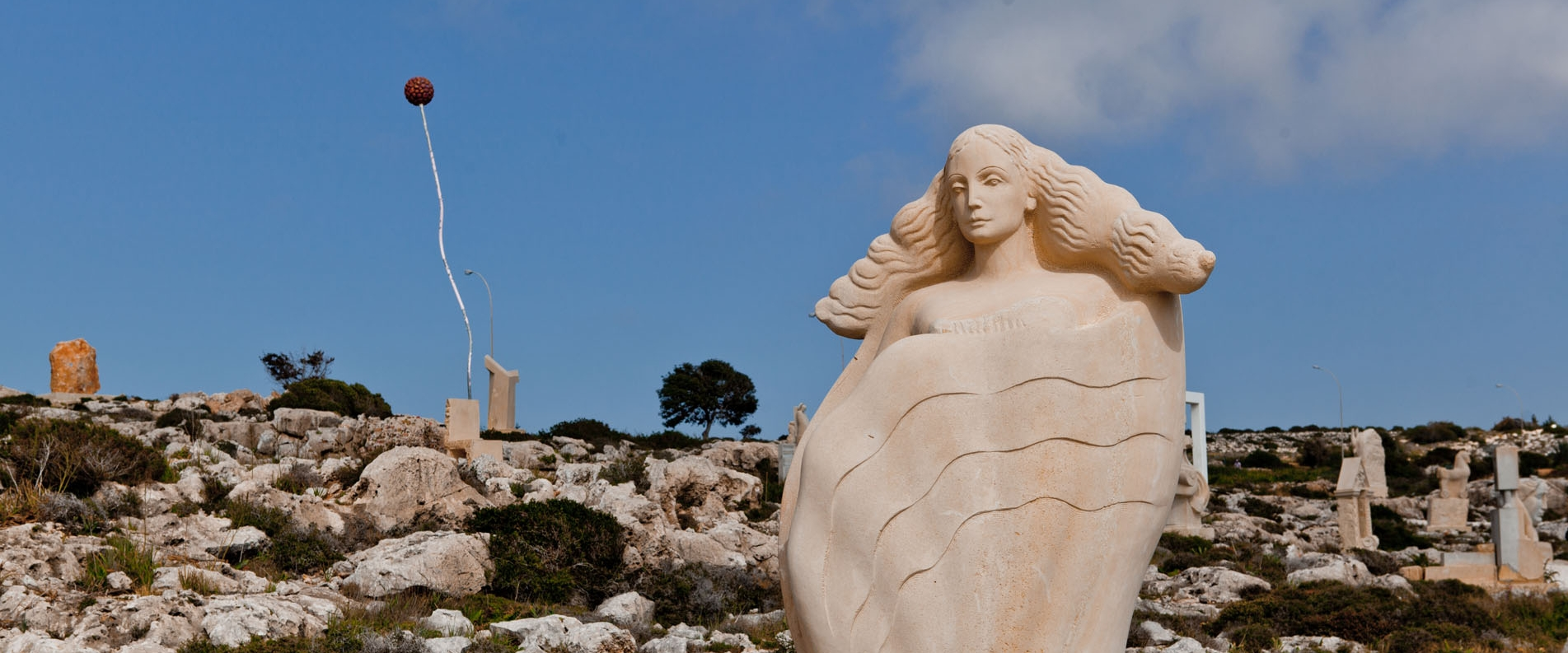 Где погулять в Айя Напе: Парк Скульптур