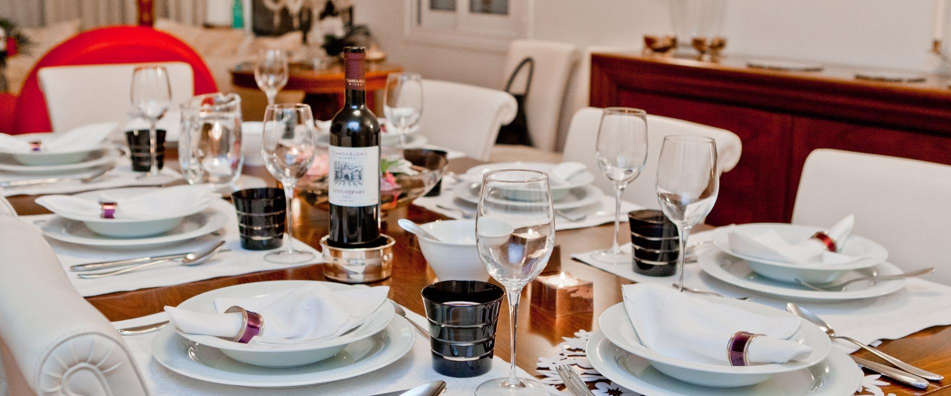 Званый ужин в традиционном стиле. В гостях у Марилены Иоаннидис