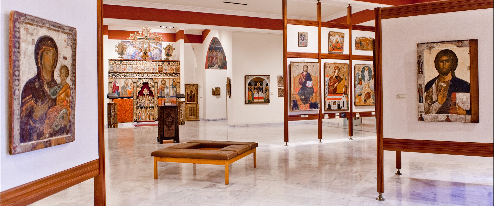 The Byzantine Museum in Nicosia — Part of the Archbishop Makarios III Cultural Foundation