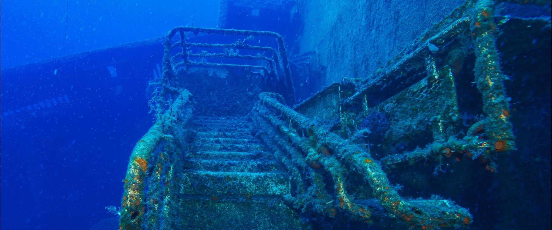 Diving Zenobia Ship Wreck