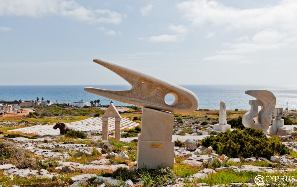 Sculpture Park in Ayia Napa