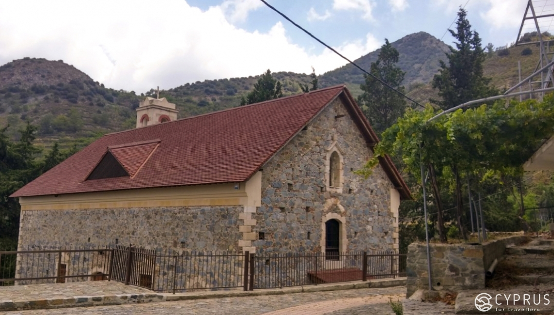 The Church of Saint Nicholas, Polistipos village, Cyprus